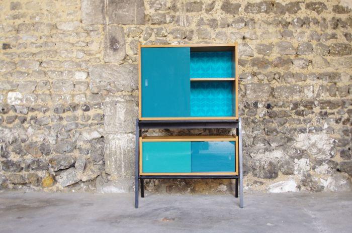 étagère-vintage-turquoise-wallpépèrayre