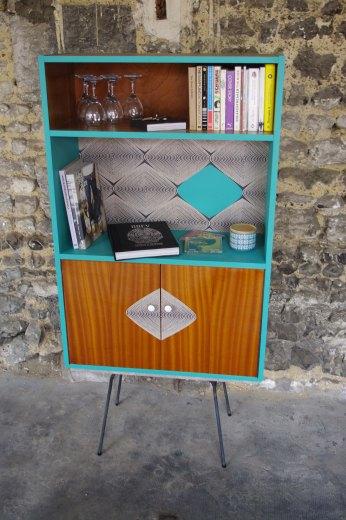 bibliothèque-vintage-tika-turquoise-clou-de-girafe-1