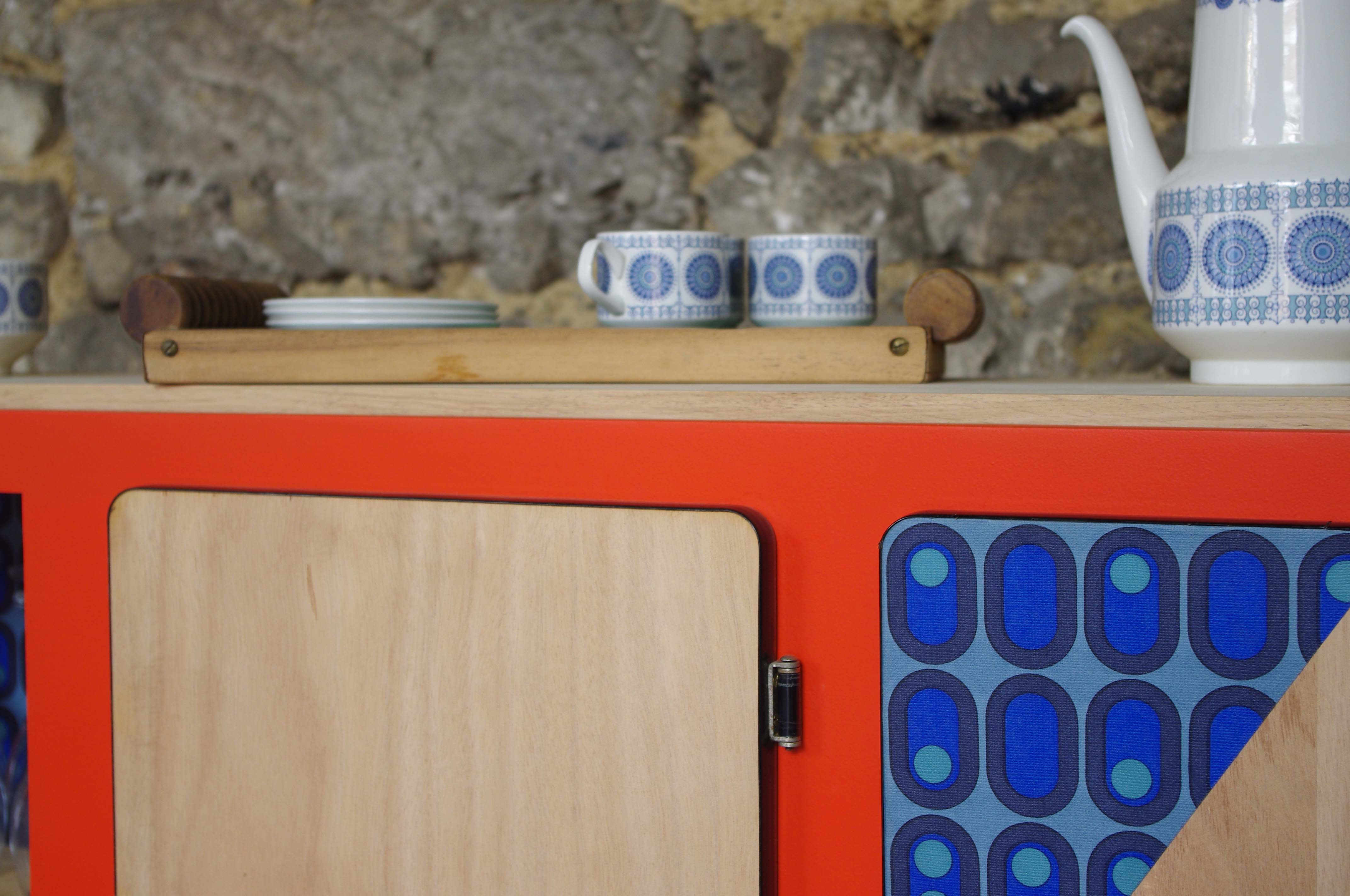 Buffet Formica Restaure : Beautiful with buffet formica relook