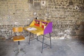bureau-vintage-industriel-secrétaire-pierre-cardin-violet-violetta-2