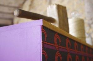 bureau-vintage-industriel-secrétaire-pierre-cardin-violet-violetta-3