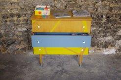 commode-vintage-enfant-jaune-gris-yellow-1