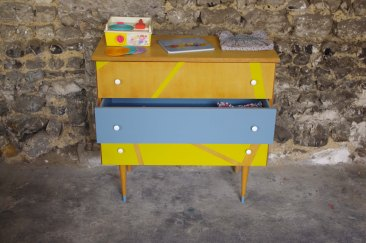 commode-vintage-enfant-jaune-gris-yellow-1