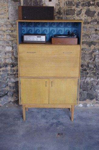 secrétaire-bibliothèque-vintage-pierre-cardin-wave-3