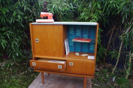 commode-buffet-vintage-bois-design-pierre-cardin-vert-bleu-7