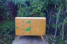 petite-enfilade-commode-vintage-rayré-concept-rouen-vert-paipier-peint-1