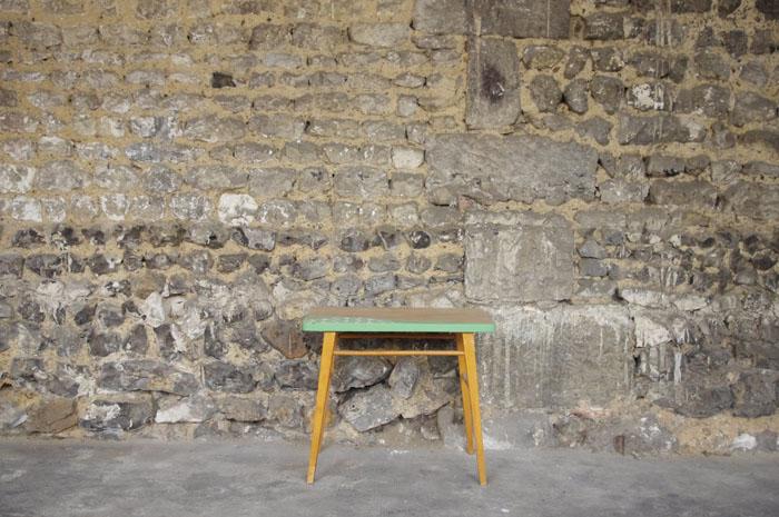 bureau-vintage-enfant-papier-peint--vert-bois-Rouen-Paris-1