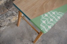 bureau-vintage-enfant-papier-peint--vert-bois-Rouen-Paris-2