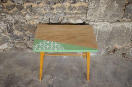 bureau-vintage-enfant-papier-peint--vert-bois-Rouen-Paris-5