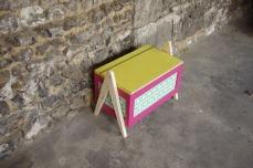 coffre-à-jouet-vintage-enfant-rangement-rose-vert-pied-compas-Rouen-Paris-2