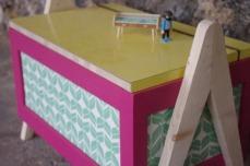 coffre-à-jouet-vintage-enfant-rangement-rose-vert-pied-compas-Rouen-Paris-3