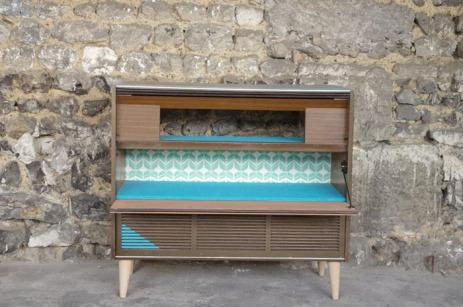 meuble-hifi-Grunding-vintage-vynile-platine-enfilade-bleu-XO-Rouen-Paris-10