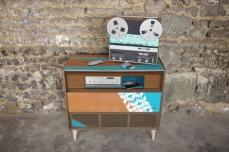 meuble-hifi-Grunding-vintage-vynile-platine-enfilade-bleu-XO-Rouen-Paris-3