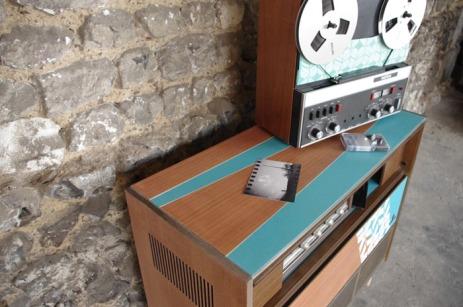 meuble-hifi-Grunding-vintage-vynile-platine-enfilade-bleu-XO-Rouen-Paris-5