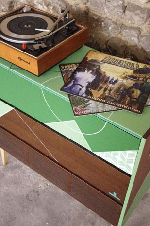 meuble-hifi-Grunding-vintage-vynile-platine-enfilade-vert-blackboard-Rouen-Paris-12