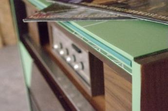 meuble-hifi-Grunding-vintage-vynile-platine-enfilade-vert-blackboard-Rouen-Paris-17