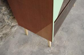meuble-hifi-Grunding-vintage-vynile-platine-enfilade-vert-blackboard-Rouen-Paris-3