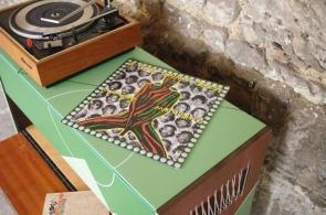 meuble-hifi-Grunding-vintage-vynile-platine-enfilade-vert-blackboard-Rouen-Paris-5